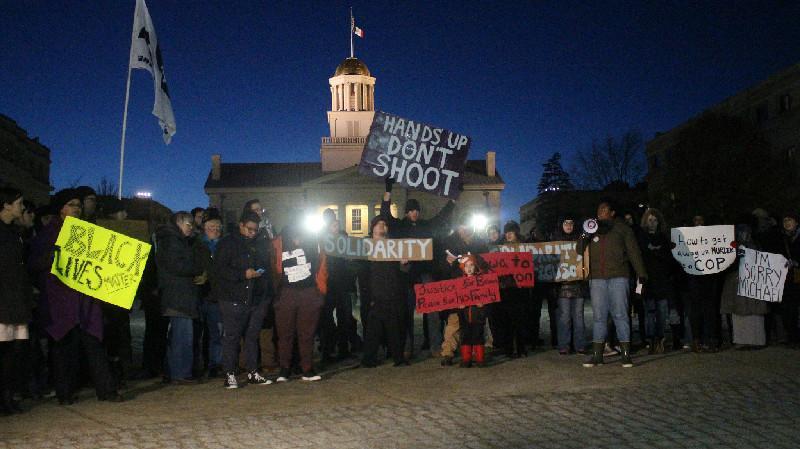 Ferguson Grand Jury Decision Sparks Protests