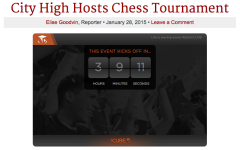 LIVE STREAM: City High Hosts Chess Tournament