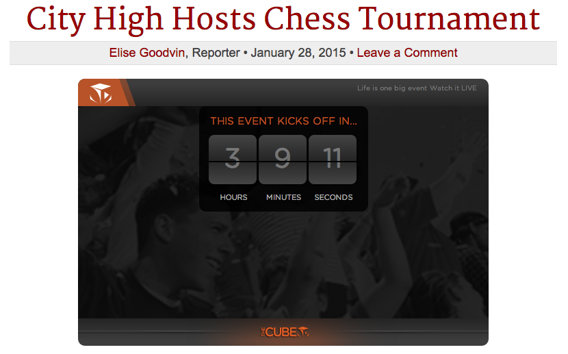 LIVE+STREAM%3A+City+High+Hosts+Chess+Tournament