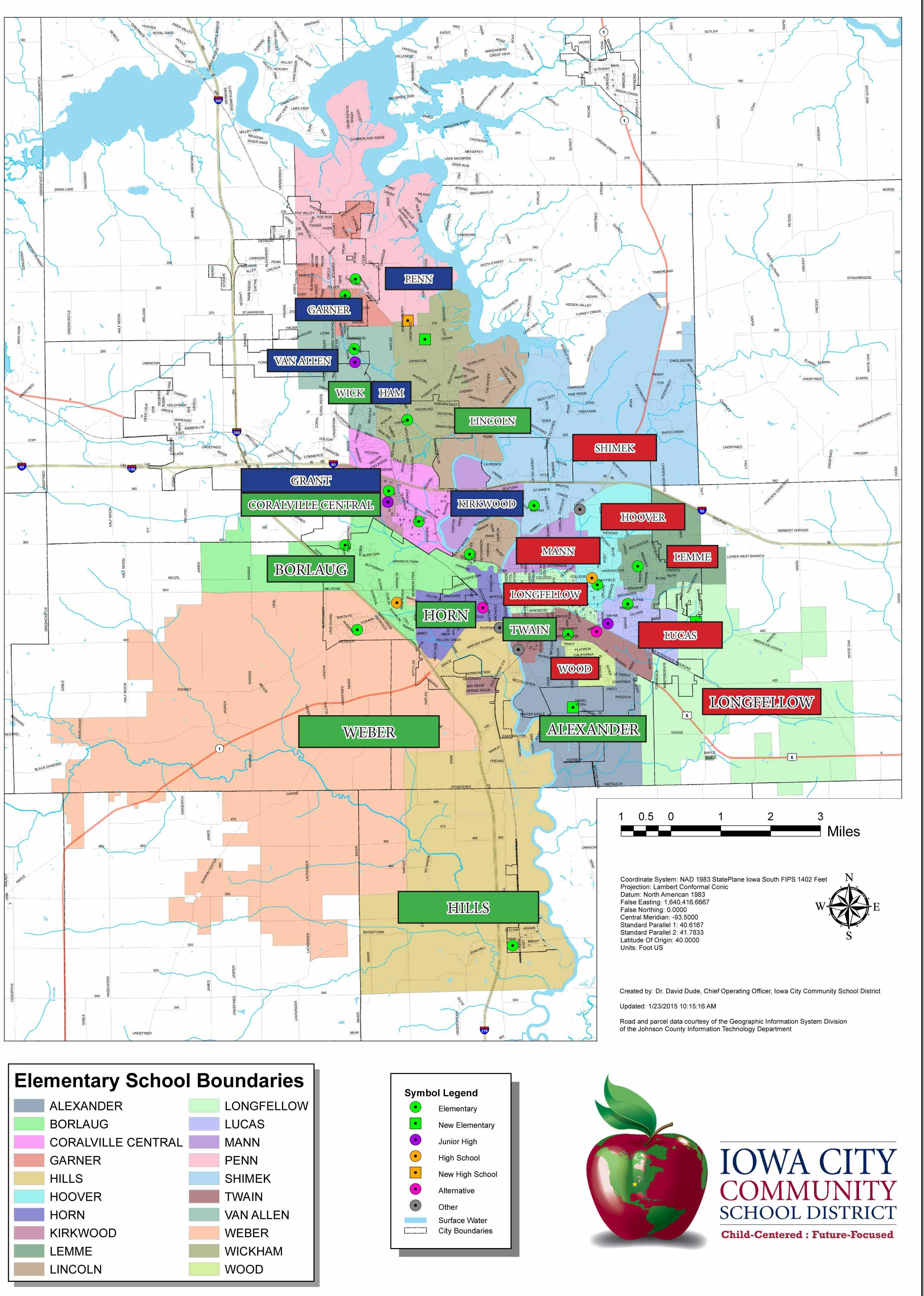 ICCSD Releases Proposed New District Maps for 2017 – The ...