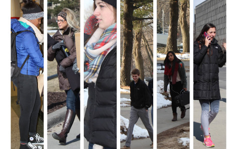 IC STREETWARE: Puffy and tight winter fashion trends