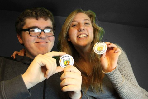 Jonas Geerdes '16 and Caroline Brown '16 both agree that people shouldn't use the R-word.