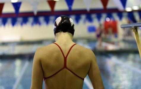 Little Hawk Girls' Swim Team Defeats Waterloo West