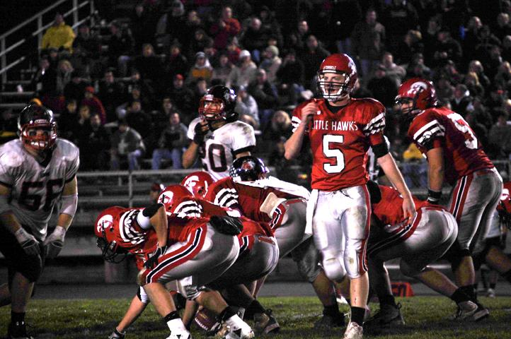 Andrew McNulty plays Linn-Mar in the quarterfinals for City High in 2010 in route to the state championship game.  McNulty was 46-2 as a Little Hawk.