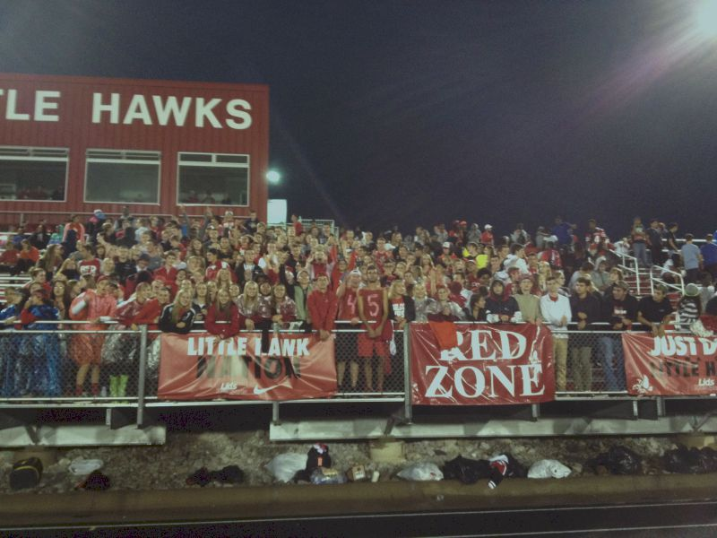 City+High+student+section+waits+for+kickoff+of+the+Battle+for+the+Boot.+