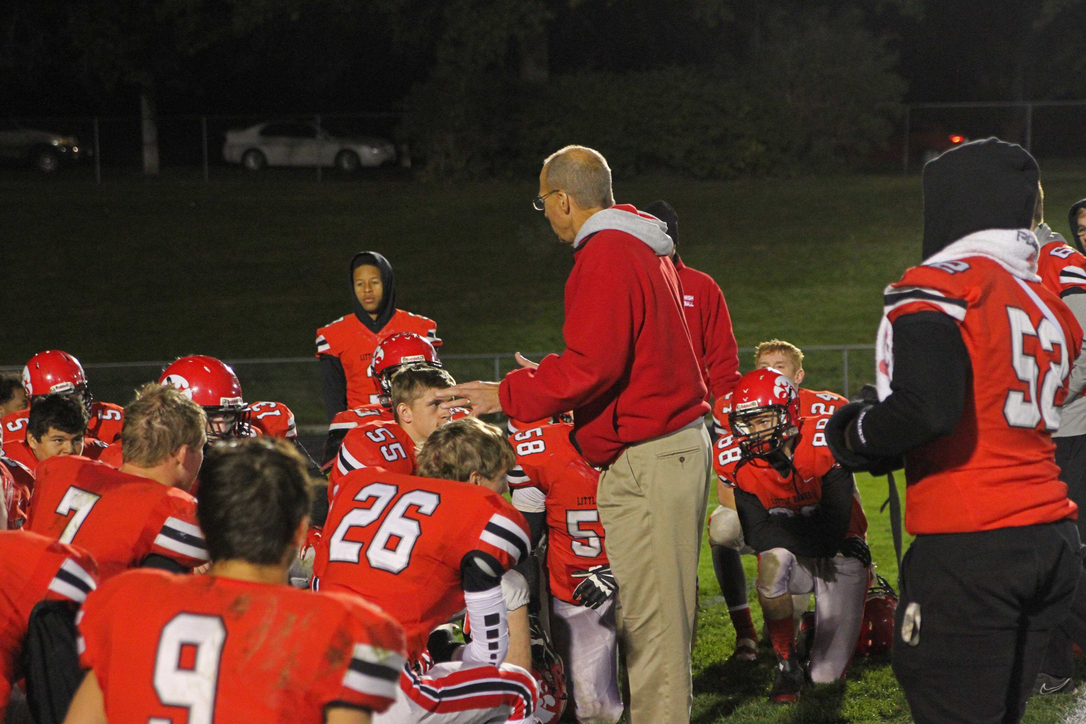 Coach+Sabers+reinforced+that+the+team%27s+loss+should+motivate+them+to+work+harder+as+they+had+earlier+in+the+season+when+they+fell+to+Bettendorf+%287-47%29.