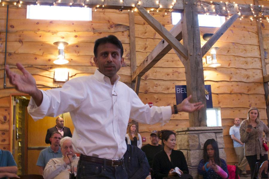 Bobby Jindal Comes to Iowa City