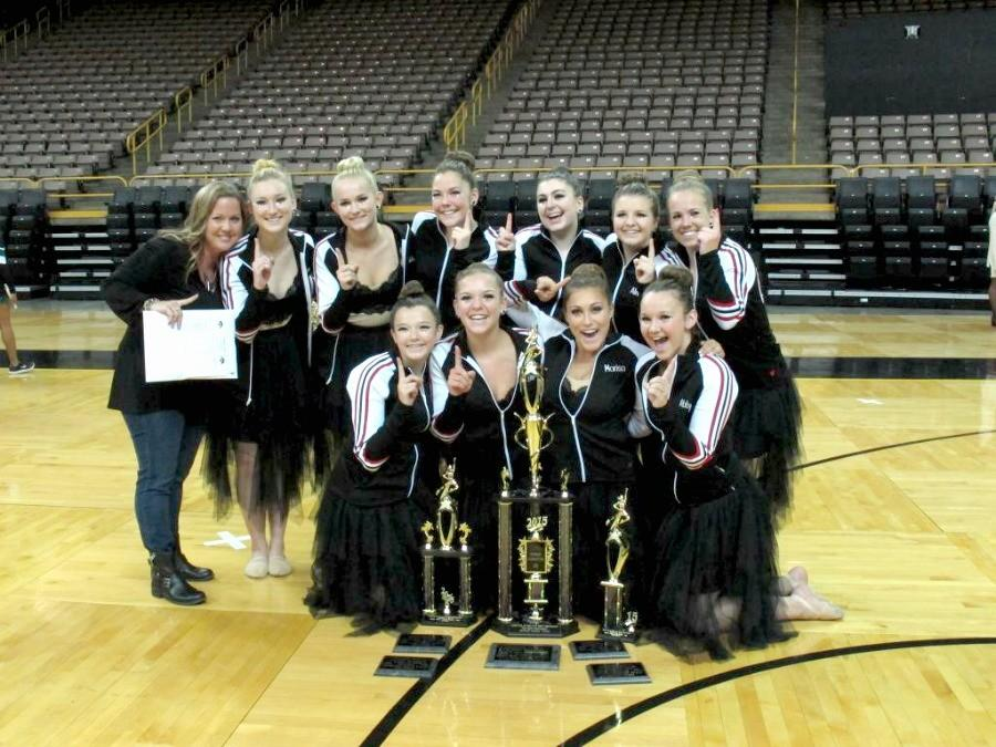 Dance Team Ranked Grand Champions at First Competition