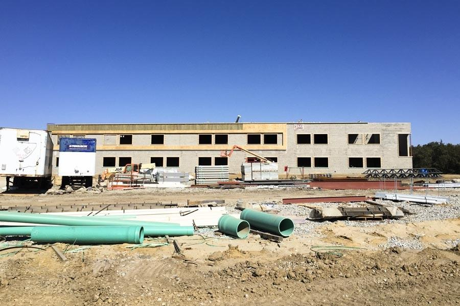 Liberty High School is in Phase I of the construction plan, which is set for completion in 2017.