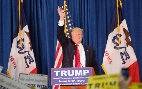 Donald Trump Gets Mixed Emotions at Iowa City Rally