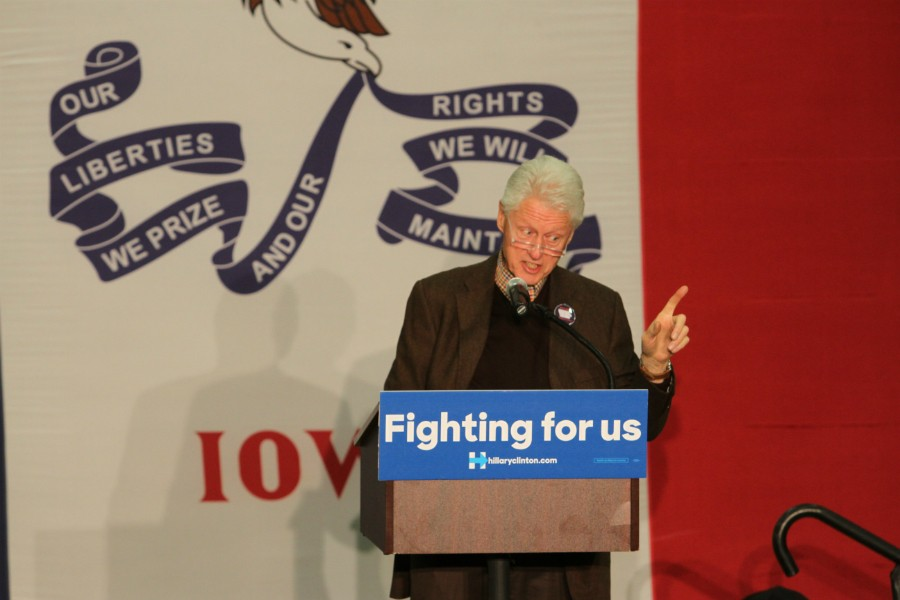 [Hillary Clinton] is trying to save live, balance lives and help people around the world. -Bill Clinton