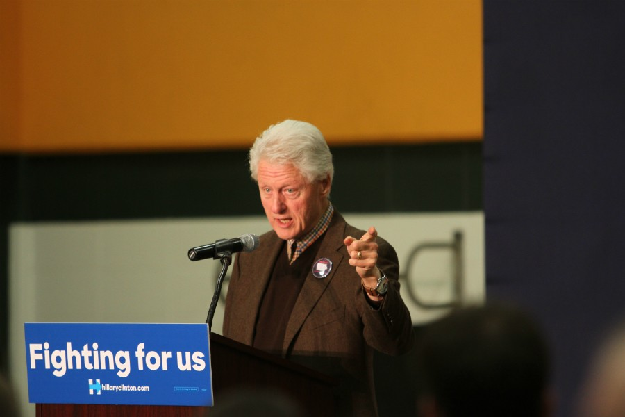 Hillary is the best change maker I know. -Bill Clinton