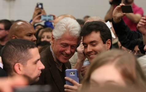 Photo Highlights: Bill Clinton visits Iowa City