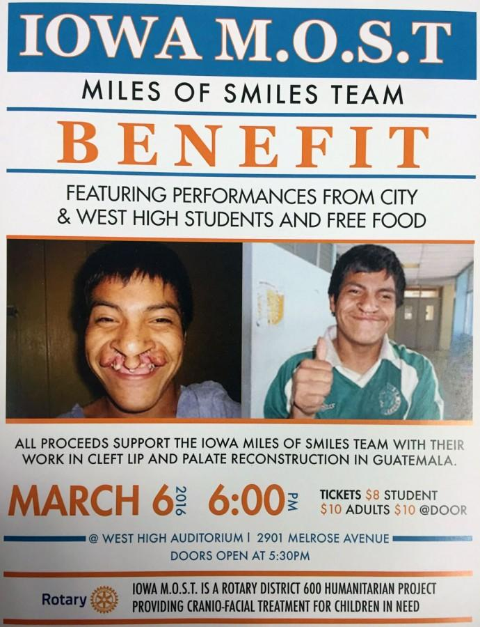 Interact Club to help host Iowa MOST Benefit