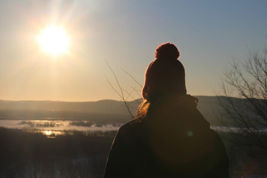 Sunrise at Pike's Peak