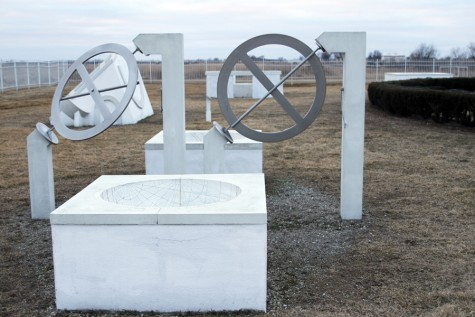 Astronomical instruments at the observatory in Vedic City, located on the outskirts of Fairfield.