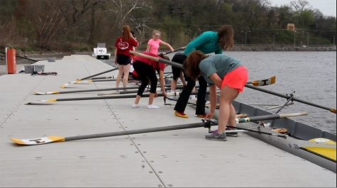 Junior Rowing Team Heads Out On The River