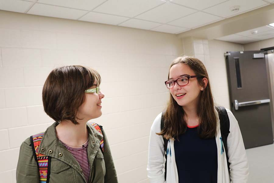 Twins Abby and Lucy Rood share what it's like to be twins