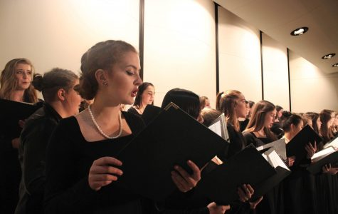 City High Choirs Perform in Combined Concert with Orchestra