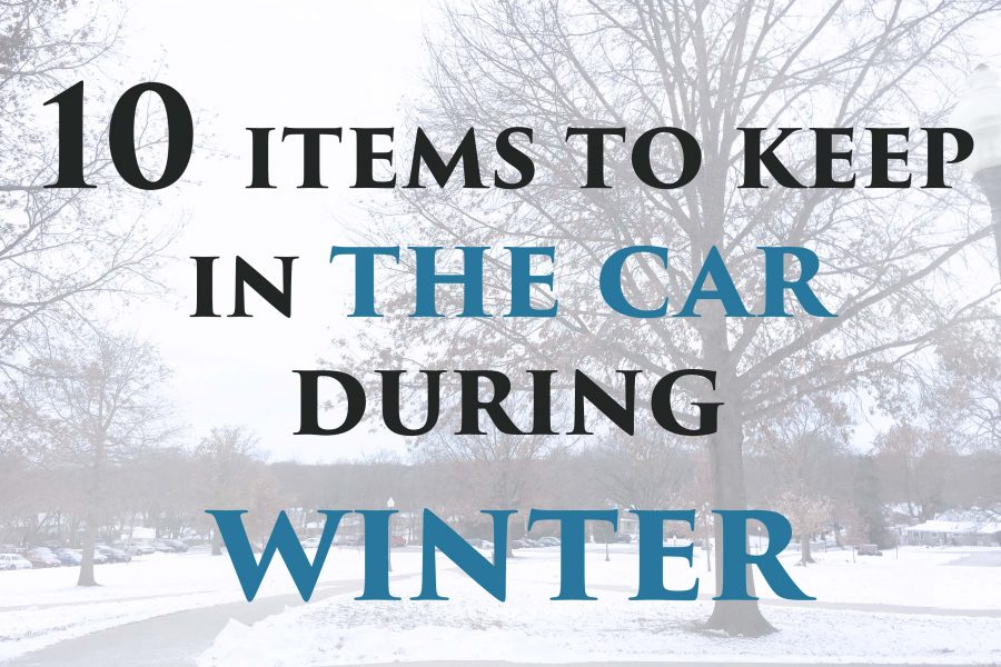 10 Items To Keep in the Car During Winter