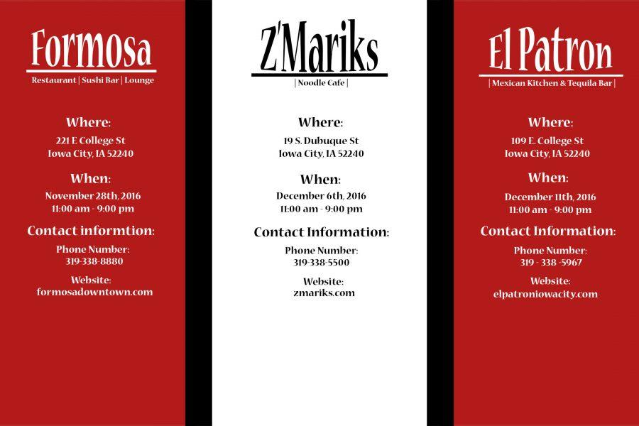 Z'Marik to Donate 50% of Sales to Dance Marathon