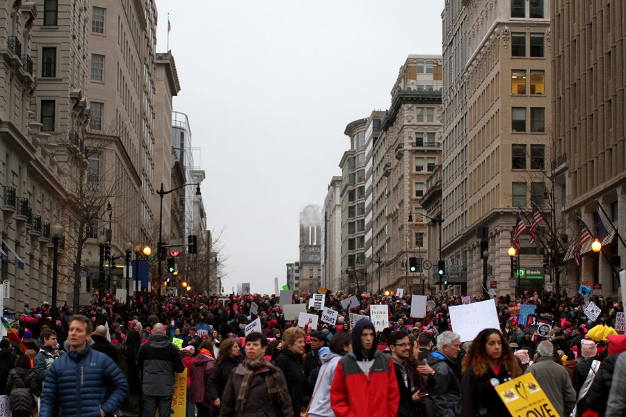 Approximately 500,000 people marched in D.C. Marches occurred in every continent across the globe.