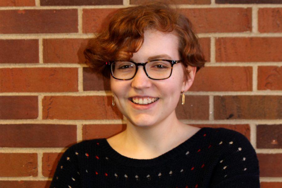 Natalie Holmes '17, a member of Student Senate.
