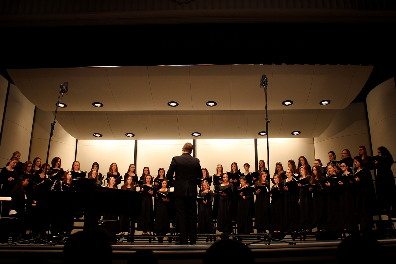 Each City High Choir performs in their first concert of the year.