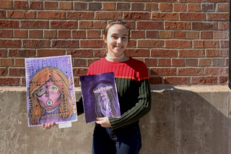 Students Showcase Artwork at Annual Winter Art Show