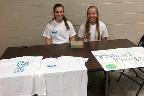"Students Sell T-Shirts to Support the ""Thirst Project"""