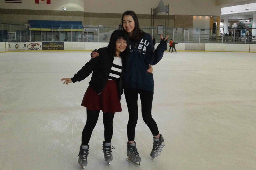 Mai+Sanada+and+Alisha+Tone