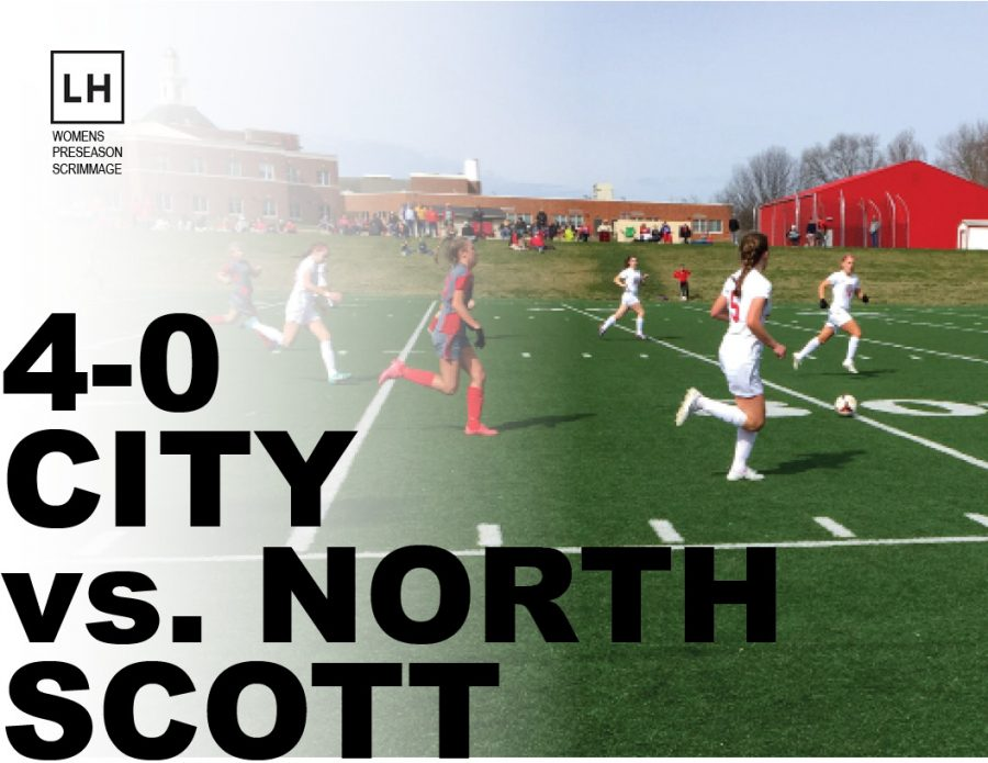City+Women%27s+Soccer+Scrimmage+Starts+Season+Off+With+Success