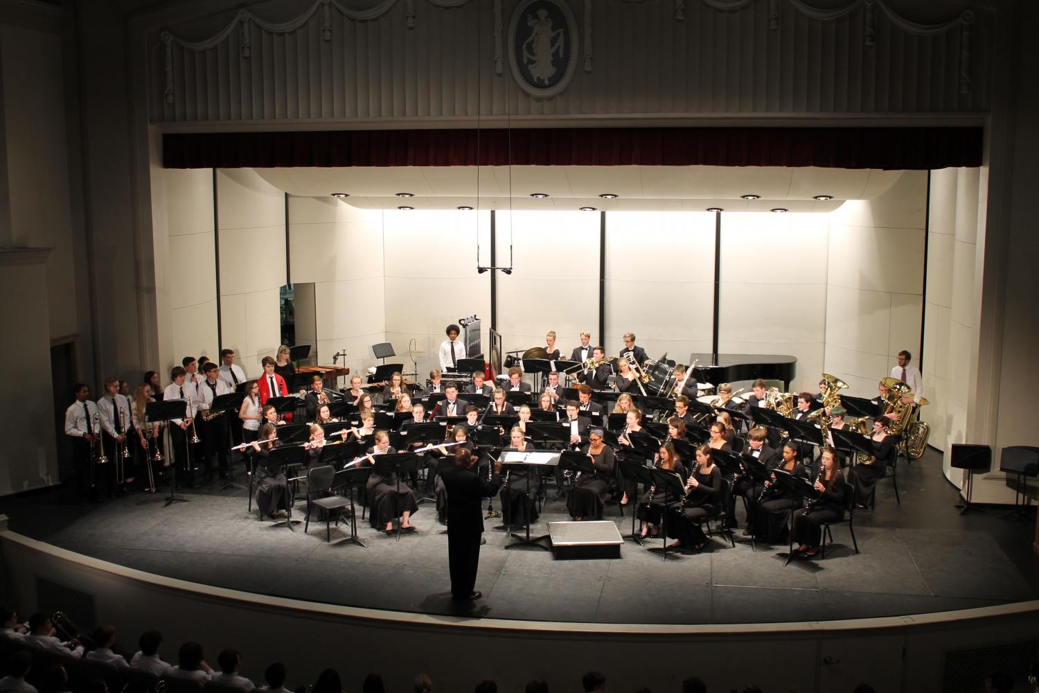 Final Band Concert Honors Seniors and Mr. Arp