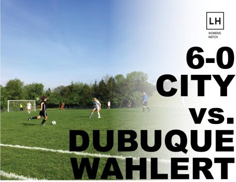 City High Prevails Against Dubuque Wahlert