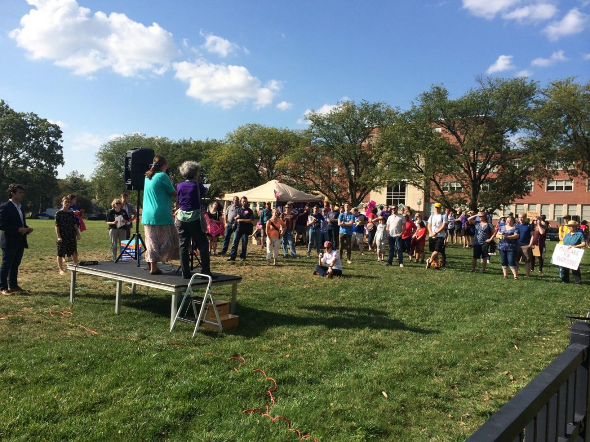 A+group+of+people+gathered+at+Hubbard+Park+to+protest+the+repealing+of+the+Affordable+Care+Act%2C+right+after+Joni+Ernst%E2%80%99s+town+hall+meeting+across+the+street.