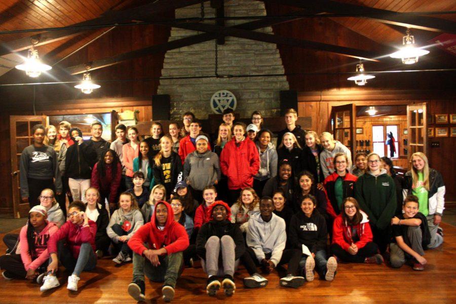 City+Students+Attend+Camp+Wapsie+Leadership+Retreat