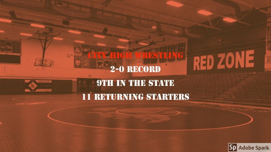 Wrestlers Win Opening Matches Against Prairie and Cedar Falls