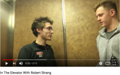 In the Elevator with Swimmer Robert Strang