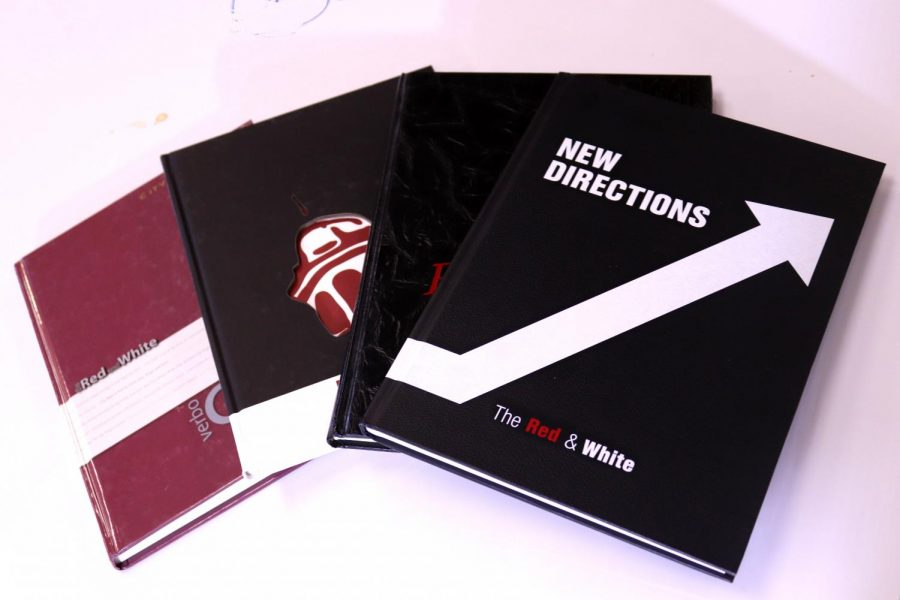 Red and White Yearbooks On Sale Through February
