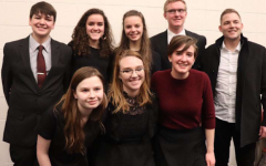 Musicians Honored by ISU Choir