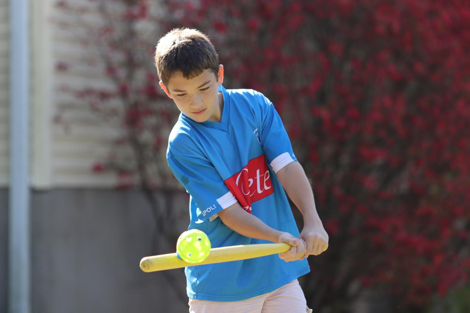 Rocco Zollo '21 is a member of the WIFFLE Ball team the