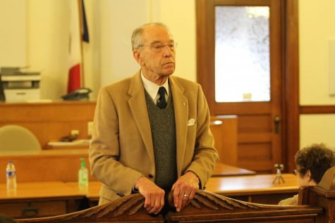 SASS Confronts Senator Grassley on Gun Safety