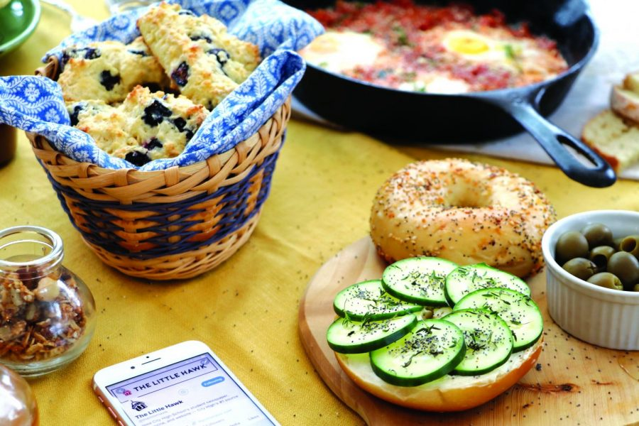 Instagram is one of the main ways to share food photos