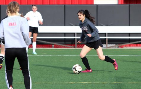 Girls Soccer Hosts Tryouts