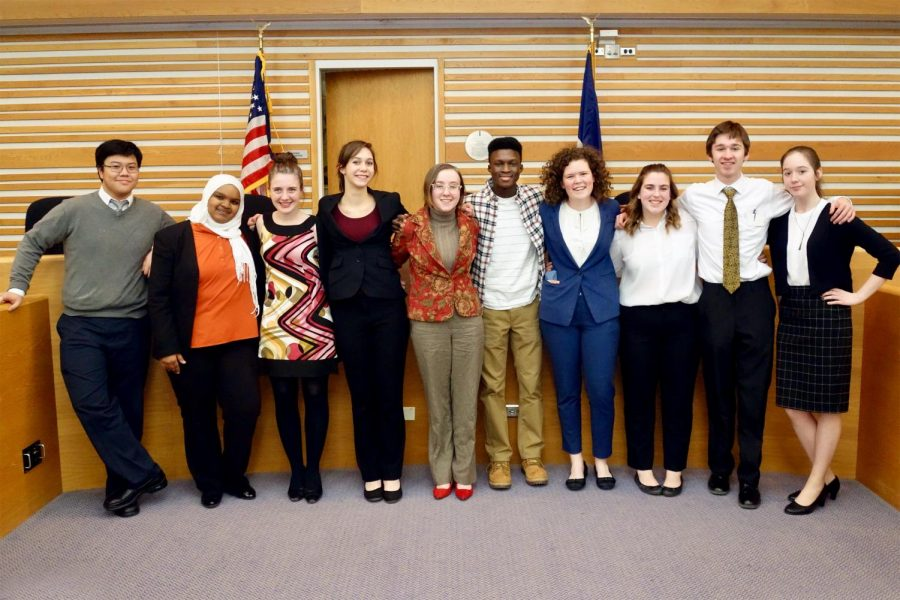 Mock Trial Teams Takes on Regionals and State