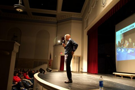 Dr. Terence Roberts Visits City High