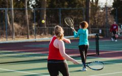 Girls Tennis Holds its Final Conference