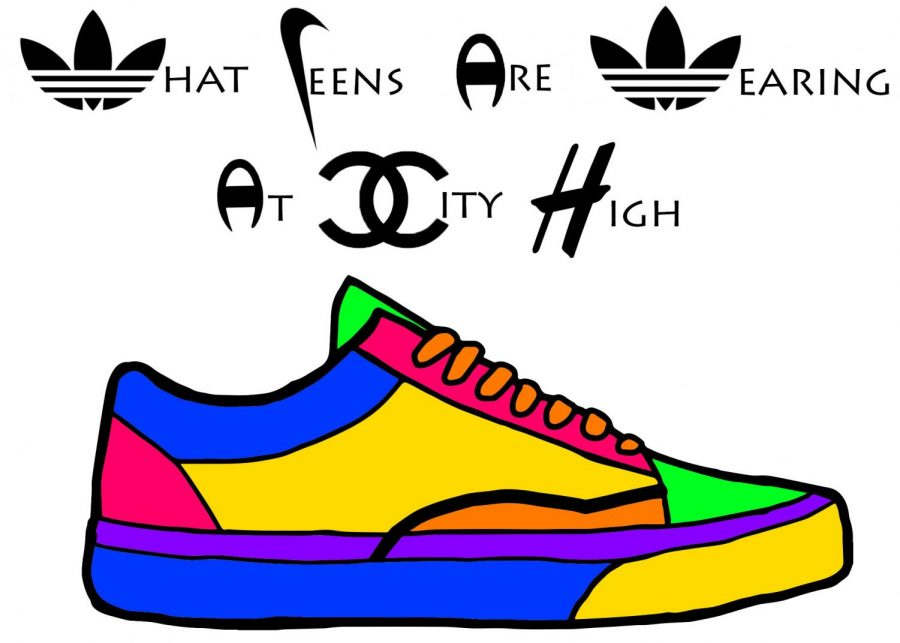 What+Teens+Are+Wearing+At+City+High