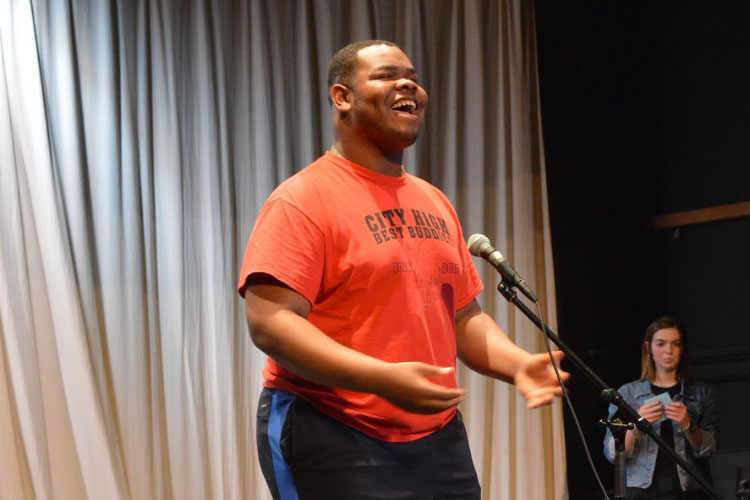 Best Buddies Holds Talent Show