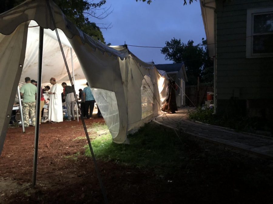 IC Mosque Holds Community Iftar
